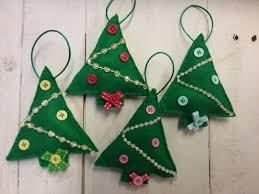 christmas tree felt christmas decoration sanders cushions
