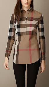 check cotton tunic burberry want pinterest tunics taupe
