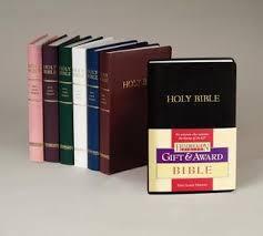 gift bibles gift award bible kjv by hendrickson bibles