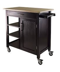 Create A Cart Kitchen Island Amazon Com Winsome Mali Kitchen Cart Bar U0026 Serving Carts