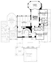 european style house plan 4 beds 5 00 baths 4629 sq ft plan 20 1731