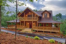 log homes with wrap around porches mountain laurel ellijay ga rustic exterior atlanta by