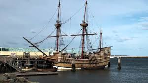 the mayflower ii ship in the plymouth harbor youtube