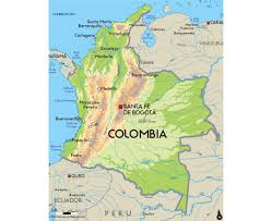 Physical Map Of South Africa by Maps Of Colombia Detailed Map Of Colombia In English Tourist
