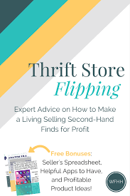 Make Spreadsheet Online Thrift Store Flipping Expert Advice On How To Make A Living