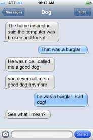Dog Text Meme - what happens when your dog texts you hot dog blog hotdogcollars com