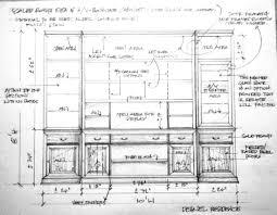 kitchen range wall elevation interior sections pinterest