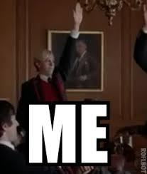 Raising Hand Meme - fuck yeah reactions