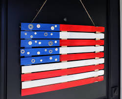 Blue White Red White Blue Flag 4th Of July Paint Stick Flag Orchard Supply Hardware Blog