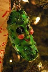 christmas pickle tinker with ink paper ornament 15 christmas pickle or chris