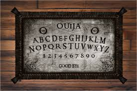 Ouija Coffee Table by Second Life Marketplace Petite Mort Seance Ouija Board Rug