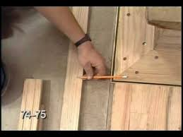 Hardwood Floor Nails Hardwood Floor Racking Nailing Cutting And Fitting