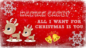mariah carey all i want for christmas is you lyrics youtube