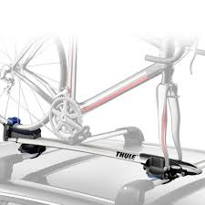 thule audi a7 2012 2018 sprint roof mount bike rack