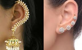 pics of ear cuffs jewellery designing trends ear jackets and ear cuffs hamstech