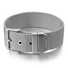 stainless steel buckle bracelet images Inblue men 39 s stainless steel bracelet bangle cuff jpg