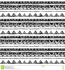 black and white wrapping paper tribal ethnic seamless black and white colors for invitation
