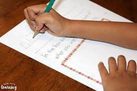 printable spring preschool story prompts look we u0027re learning
