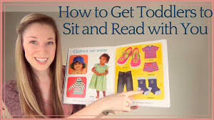 how to get toddlers to sit and read with you tips from a speech