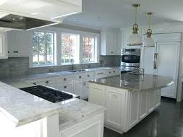 gray countertops with white cabinets white cabinets grey countertops large transitional kitchen ideas