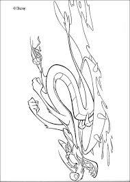 mushu cri kee coloring pages hellokids