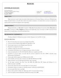 Lab Resume Examples Fantastical Lab Tech Resume 6 Sample Resume Format For Lab Resume