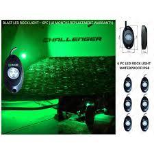 color changing led rock lights rgb 4 pod