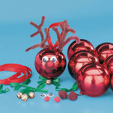 reindeer christmas ornament craft kit craft kits ornament and craft