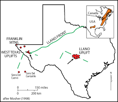 llano map mosher department of geological sciences jackson school