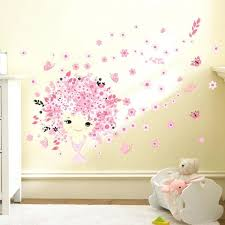 wall ideas 20 more girls bedroom decor ideas wall decorations fairies girl flower butterfly flowers wall stickers for kids rooms art decal home decor children girls
