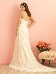 simple lace strapless sweetheart mermaid wedding dress queen of