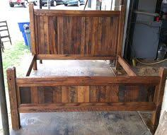 fabulous king size bed frame with storage drawer and bookcase