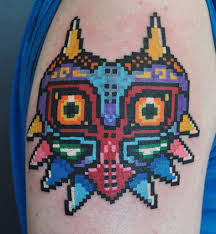 in honor of the majora u0027s mask remake here u0027s my 8 bit majora u0027s