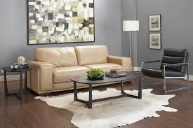 Wood And Leather Sofa Architecture Blue Wall With Wingback Chair And Wood Long Table