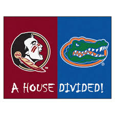 Funny Welcome Mats State Florida House Divided Welcome Mat