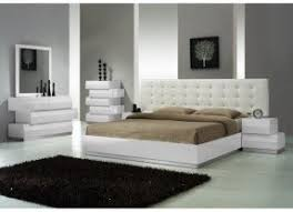 Leather Bedroom Sets Foter - Modern white leather bedroom set