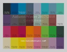 28 fall 2017 pantone colors pantone farbpalette autumn winter 2017 2018 trend forecasting is a trend color guide