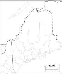 Maine Maps Free Map Of Maine