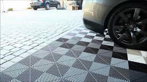 rubber floor tiles as bathroom floor tile and epic garage floor
