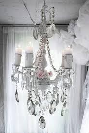 Shabby Chic Bedroom Chandelier Lighting Chandeliers Pleasant Dreams 4 Arm Crystal Chandelier