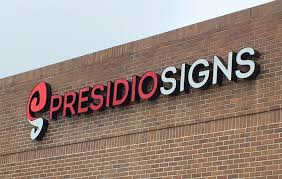 outdoor signs presidio signs inc custom signs displays and