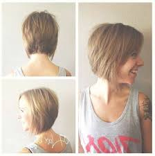 short hairstyles for women showing front and back views photos of front and back views of bob hairstyles showing 6 of 15