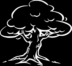 white tree clip at clker vector clip royalty