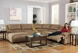 Sectional Sofa With Recliner And Chaise Lounge Sofa Wonderful Sectional Sofas With Recliners For Small Spaces