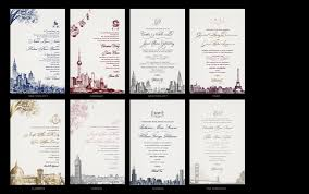 wedding invitations chicago cities luxury wedding invitations the wedding collection
