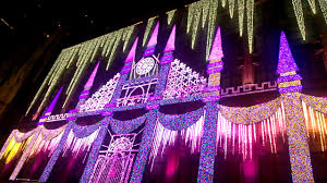 saks fifth avenue lights 2016 saks fifth avenue light show youtube
