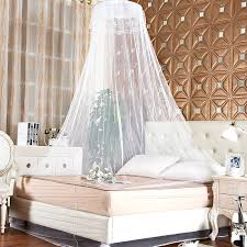 Lace Bed Canopy Lace Bed Mosquito Netting Mesh Canopy Princess Dome Bedding