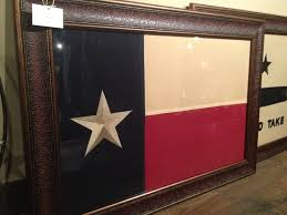 Texaa Flag Large Framed Texas Flag Texas National Outfitters