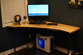live edge computer desk live edge corner desk build album on imgur