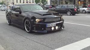 Black 2007 Mustang Ford Mustang Eleanor Loud Sound Hd Youtube